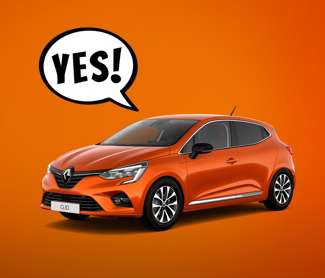 Gagnez une Nouvelle Renault CLIO